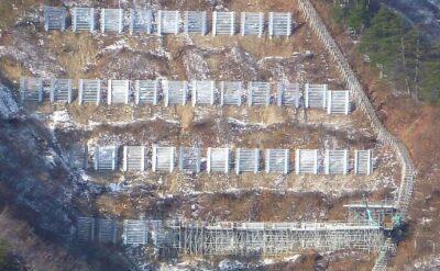 山形県 雪崩防護柵設置工事