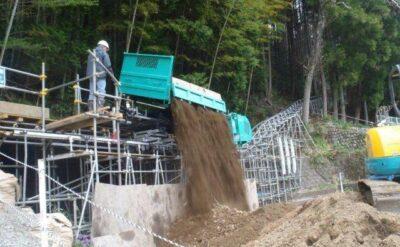 山梨県 急傾斜地崩壊対策工事