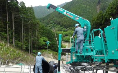福岡県 法面排水工事